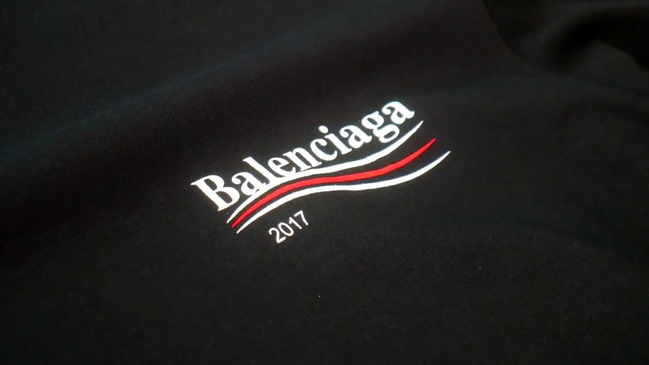 a175f018f975 Balenciaga Campaign tee overview - YouTube