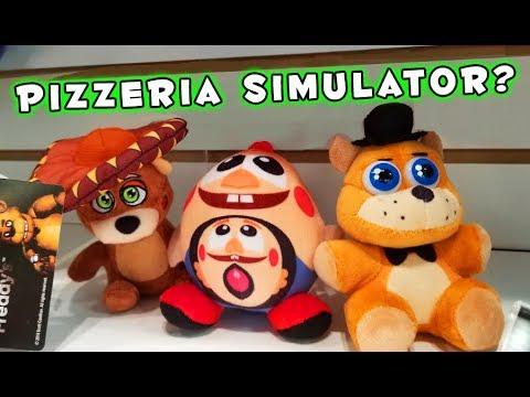 Five Nights At FREDDY'S PLUSH FUNKO?? Pizzeria Simulator thumbnail