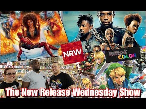 Deadpool 2! Black Panther! Hyrule Warriors! New this week! #NRW!