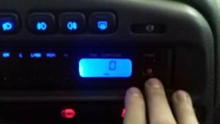 видео Штатный бортовой компьютер ВАЗ 2114
