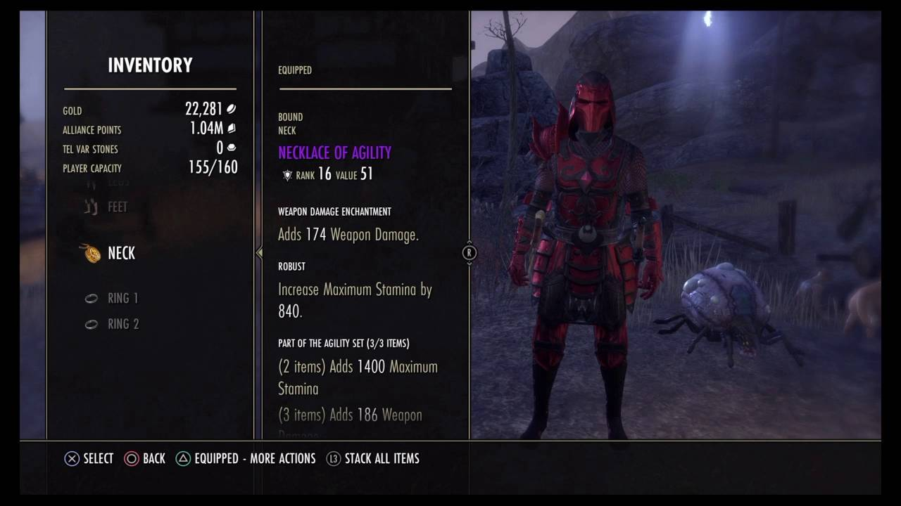 Eso Nightblade Pve Build