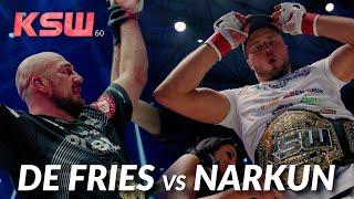 KSW 60: Phil de Fries vs Tomasz Narkun 2