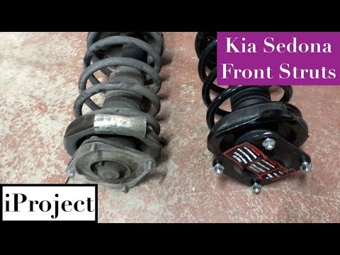 Kia Sedona front strut replacement