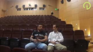 """João """"Chapas"""" Silva numa entrevista de vida."""