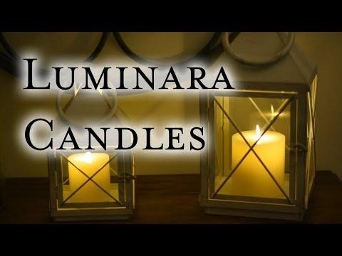 Decorating with Luminara LED Flameless Candles