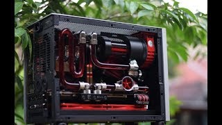 NCASE M1 V3 Watercooling [Square Project #2] Time-Lapse Build