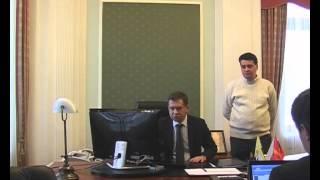 Обыск в кабинете Олега Грачева