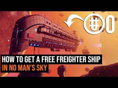 How To Get A FREE Freighter In No Man's Sky