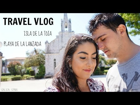 A CHURCH MADE OUT OF CLAM SHELLS?! | GALICIA, SPAIN TRAVEL VLOG 23/04/2017
