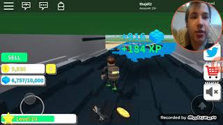 Random idiot blows up light house and ship (Roblox destruction sim)
