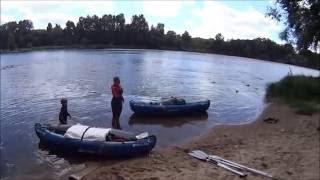 Kanuwandern Sevylor Adventure / Kanutour in Frankreich auf der Loire mit Kinder