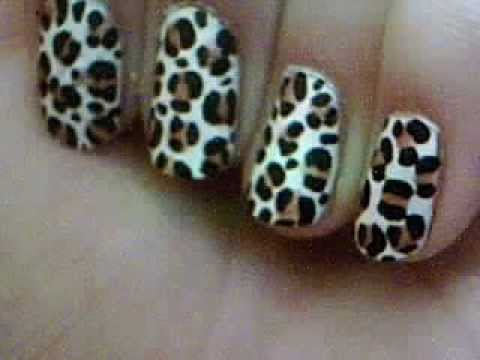 Easy leopard print nail art for beginners youtube easy leopard print nail art for beginners prinsesfo Choice Image
