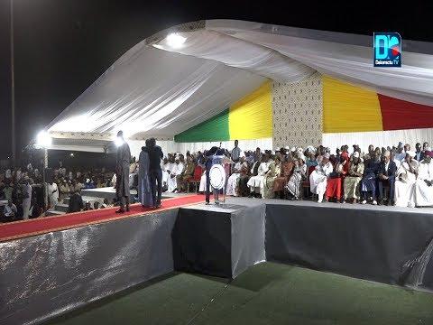 Meeting du président Macky Sall à kaolack: Les discours de Awa, Nafissatou, Mariama et Mimi