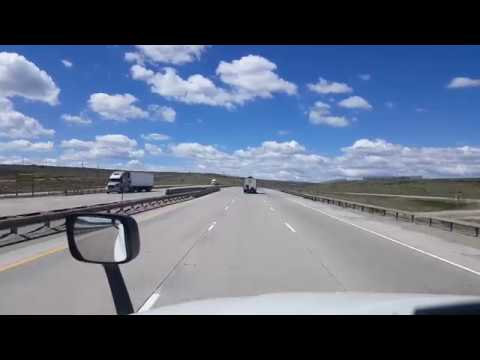 BigRigTravels Classics-Interstate 80 West over the Three Sisters in Wyoming-May 22, 2017