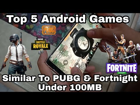 Top 5 Android Games Similar To PUBG & Fortnite Under 100MB
