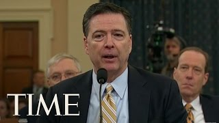 FBI Director James Comey Declines To Answer Questions About Roger Stone | TIME