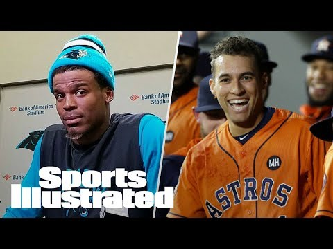 Reacting To Cam Newton's Statement, Will Houston Astros Win It All? | SI NOW | Sports Illustrated