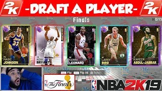 NBA 2K19 DRAFT - NBA FINALS EDITION WITH THE NEW SUPER JUICED DRAFT IN MYTEAM