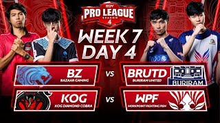 RoV Pro League Season 4 | Week 7 Day 4
