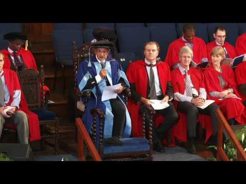 UCT Graduation 2017: 2 May at 15:00