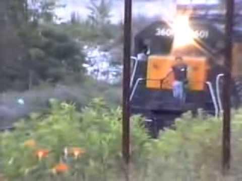 conrail on the boston line in western mass & newyork