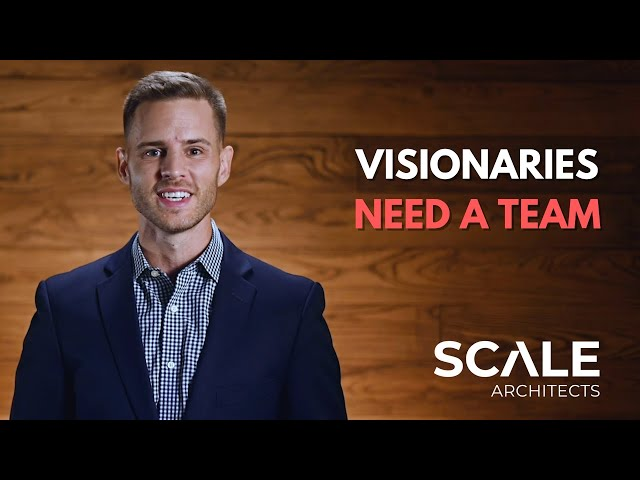 Visionaries need a team