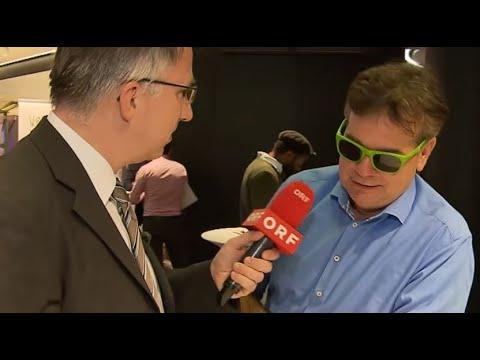 Peter Klien: Grüner Bundeskongress   Willkommen Österreich