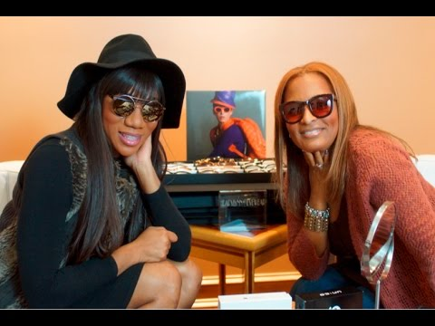 Celebrity Eye Wear Designer Tiffany Williams on Indie Style TV with Leah DeVon