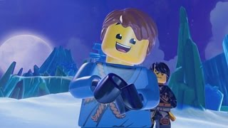 LEGO Ninjago: Shadow of Ronin Walkthrough Part 7 - The Ice Temple & Frost-bite Chamber (3DS/Vita)