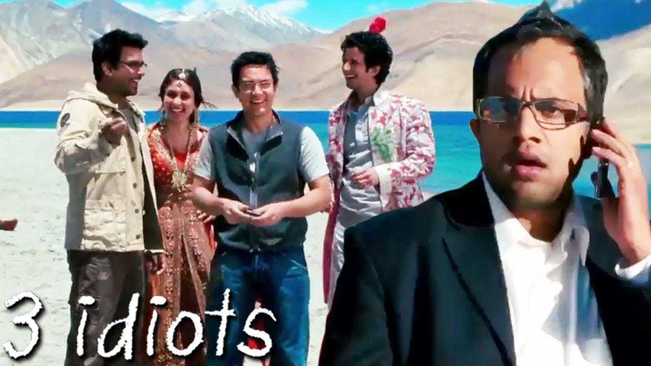 À¤« À¤¨ À¤¸ À¤• À¤µ À¤—ड Climax Scene Of 3 Idiots Aamir Khan Kareena Kapoor R Madhavan Sharman Joshi Youtube