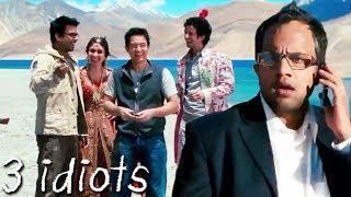 फुन्सुक वांगडू | Climax Scene Of 3 Idiots | Aamir Khan, Kareena Kapoor, R. Madhavan, Sharman Joshi