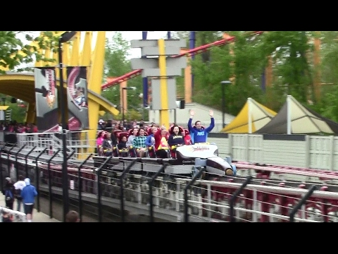 Top Thrill Dragster off-ride HD Cedar Point