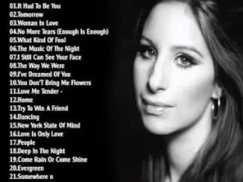 Barbra Streisand Greatest Hits | Best Songs Of Barbra Streisand