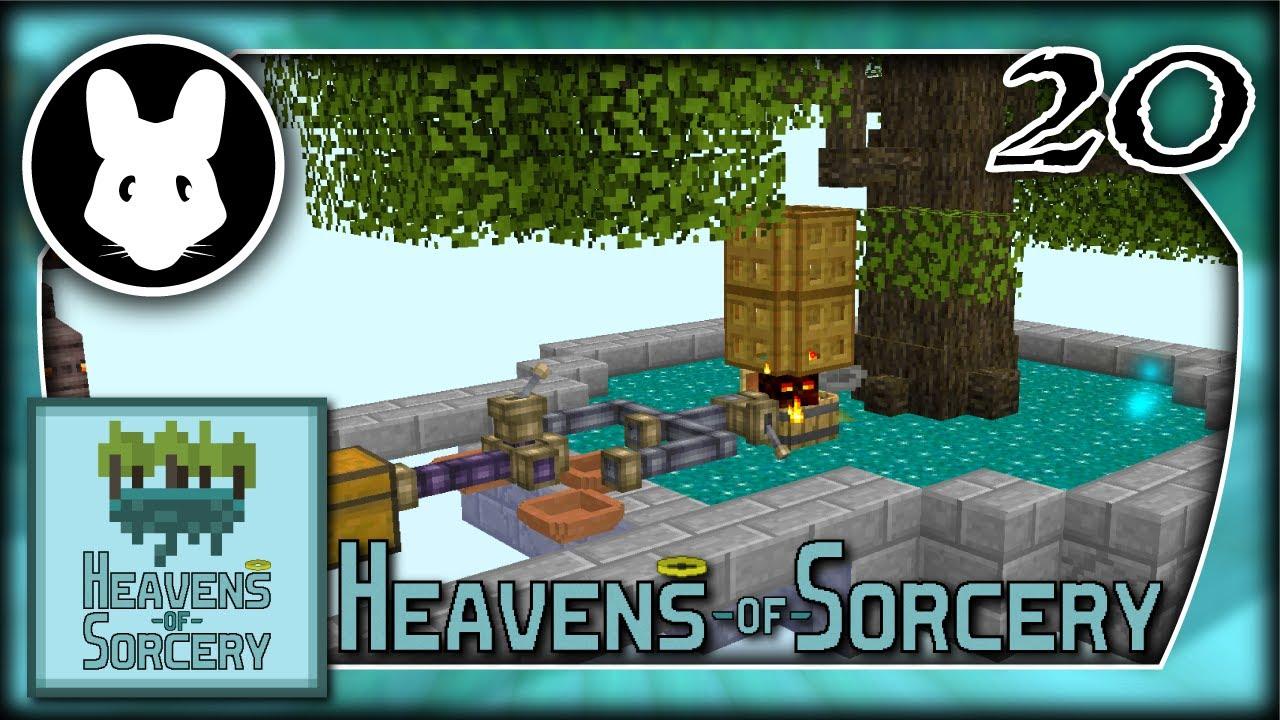 Heavens of Sorcery 20: 🦾Iron Automation!💩