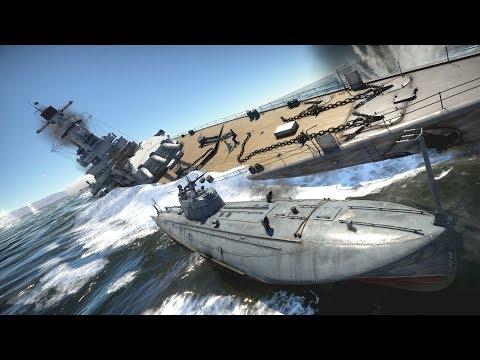 Battleships Vs Patrol Boats- War Thunder