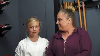 Isabelle   KNS Martial Arts   Testimonial