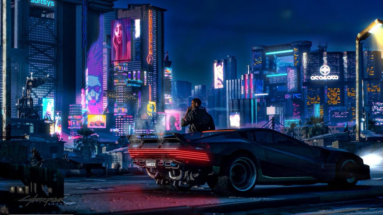 Cyberpunk 2077 City Wallpaper: Night City Live Wallpaper 1080p