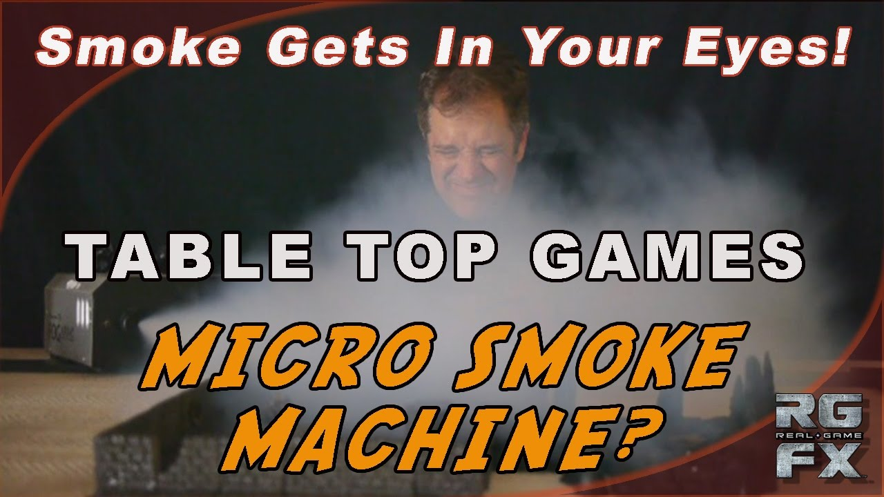 how to make a mini smoke machine