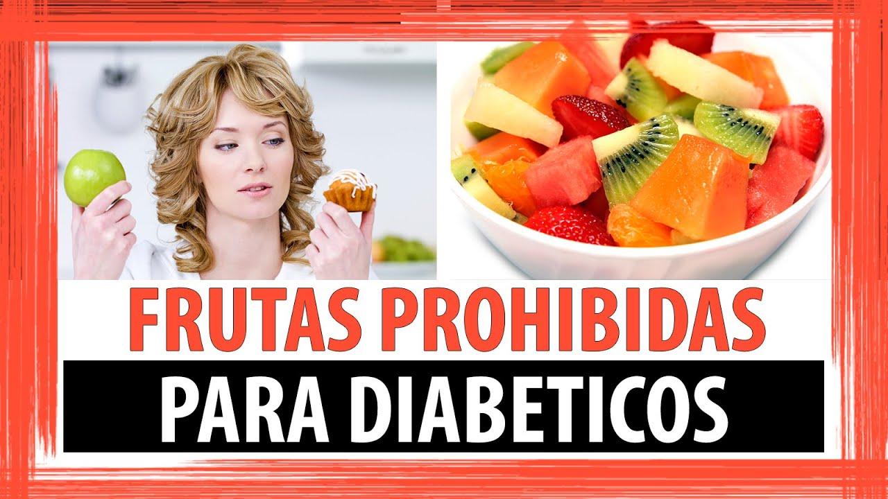 FRUTAS PROHIBIDAS PARA DIABETICOS - YouTube