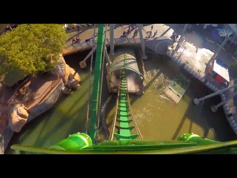 Incredible Hulk Roller Coaster - Universal Studios - Islands of Adventure - Orlando, Florida