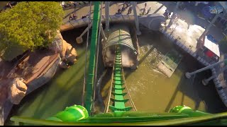 Incredible Hulk Roller Coaster - Universal Studios - Islands of Adventure - Orlando, Florida
