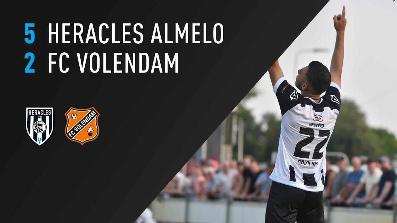 Heracles Almelo - FC Volendam 5-2 | 24-07-2018 | Samenvatting