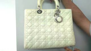 Dior Patent Bag Colour Change | The Leather Laundry