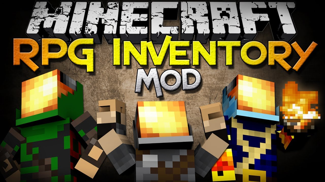 Rpg Inventory Mod 1 12 2/1 11 2/1 10 2 - File-Minecraft com