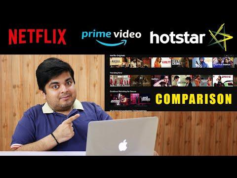 Netflix Vs Amazon Prime Video Vs Hotstar Review & Comparison | GIVEAWAY