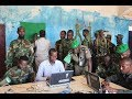 Biometric registration of the Darwish militia in Jubbaland