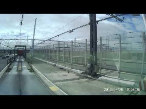 Urcare pe tren, Eurotunnel