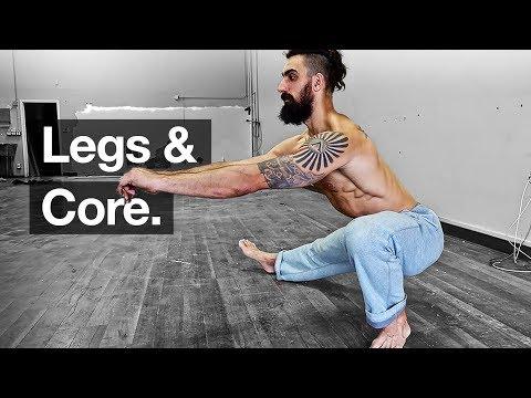 Bodyweight Leg Workout + Core *Follow Along*
