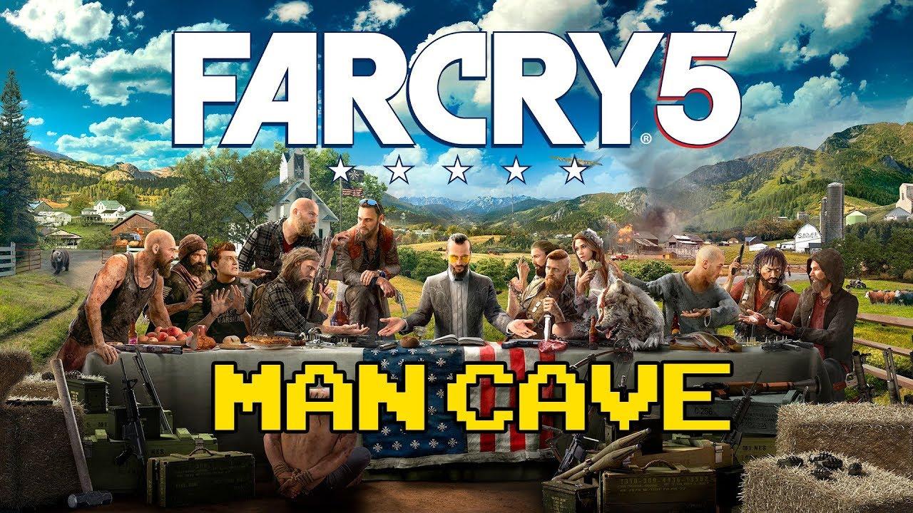 Man Cave Far Cry 5 Walkthrough : Far cry man cave walkthrough youtube