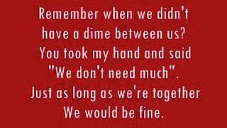 Tracy Lawrence Sticks and Stones Lyrics